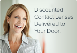 Discounted contacts delivered to your door!